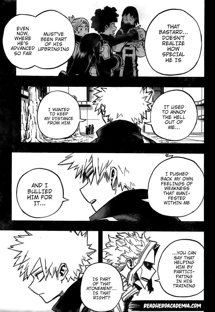Boku no Hero Academia Chapter 284 Page 11