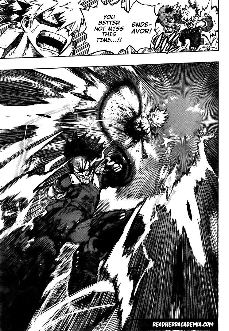 Boku no Hero Academia Chapter 284 Page 13