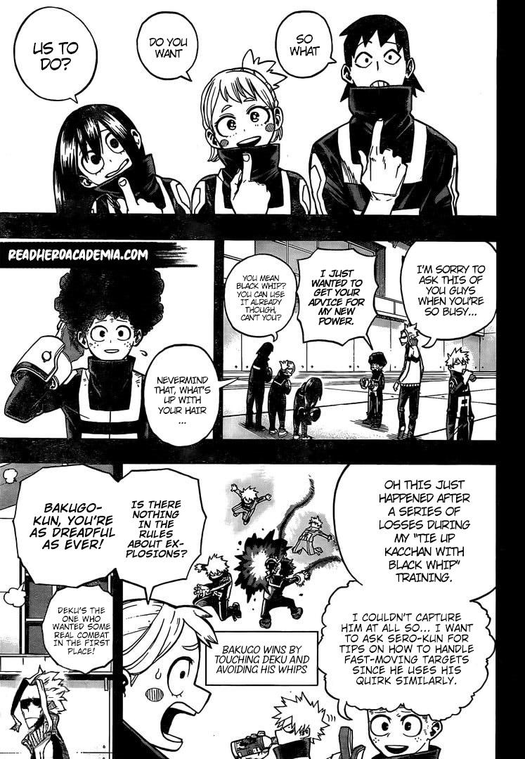 Boku no Hero Academia Chapter 284 Page 5