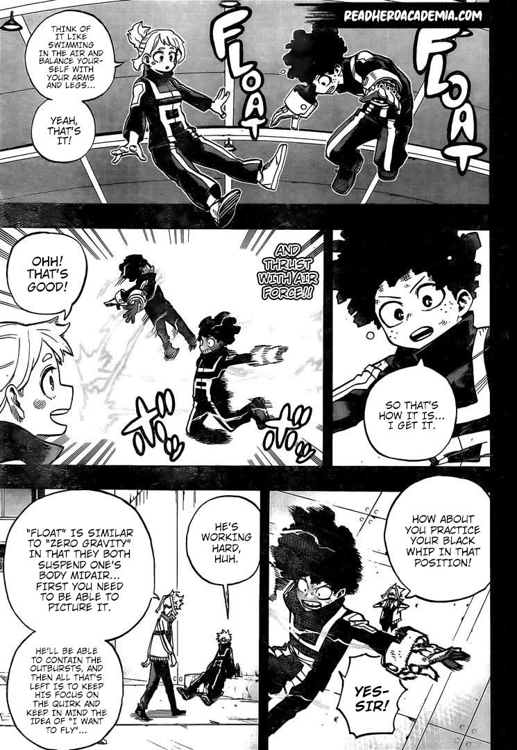 Boku no Hero Academia Chapter 284 Page 7