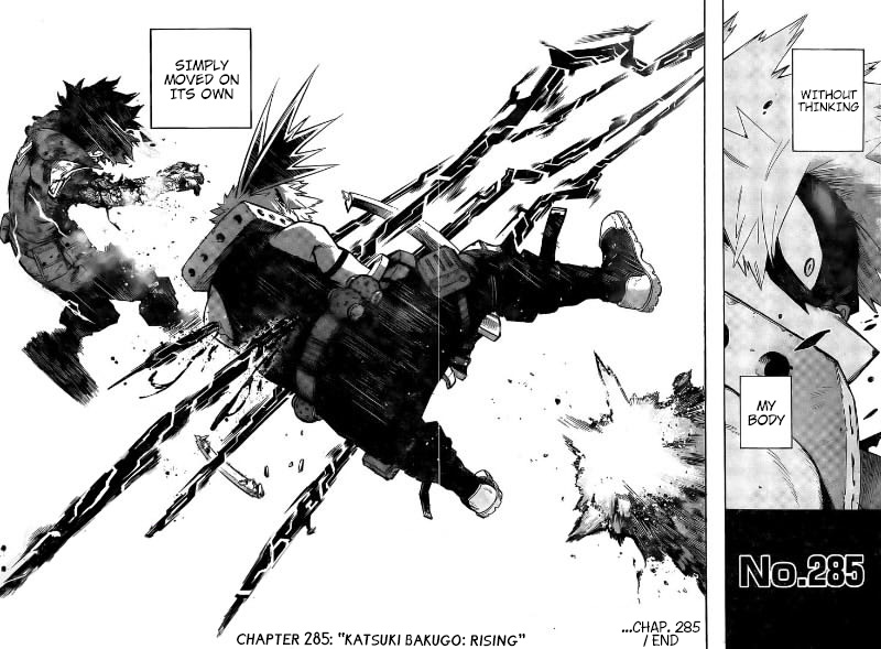 Boku no Hero Academia Chapter 285 Page 16