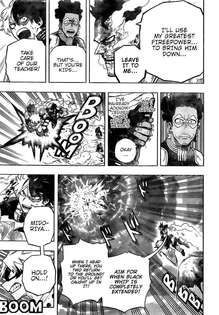 Boku no Hero Academia Chapter 285 Page 7