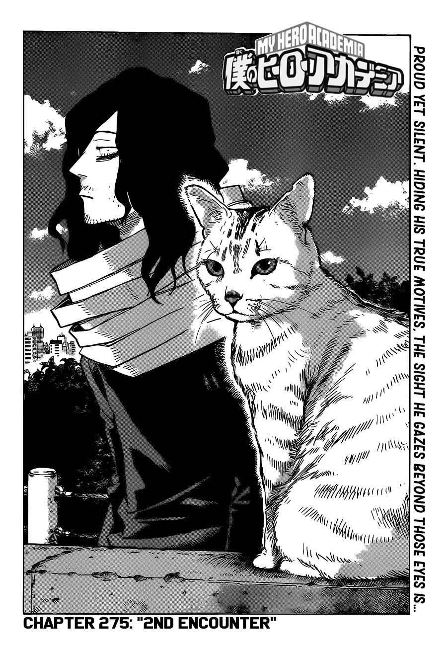 Boku no Hero Academia Chapter 275 Page 2