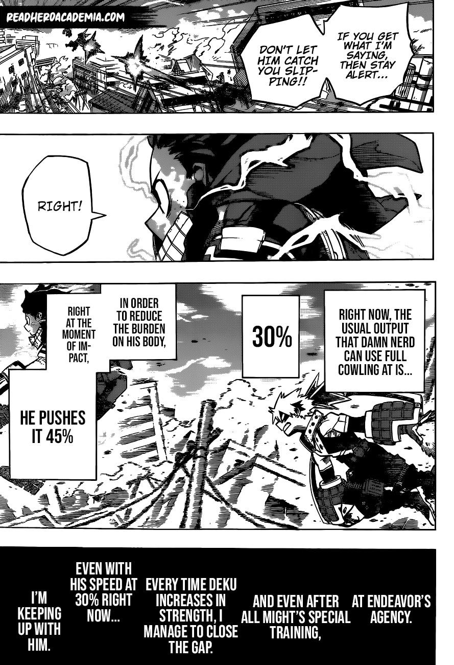 Boku no Hero Academia Chapter 275 Page 9