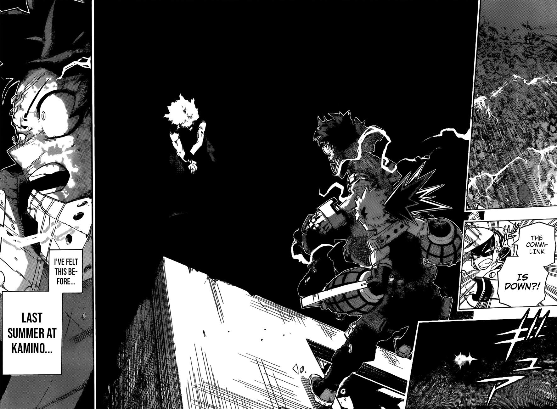 Boku no Hero Academia Chapter 275 Page 12