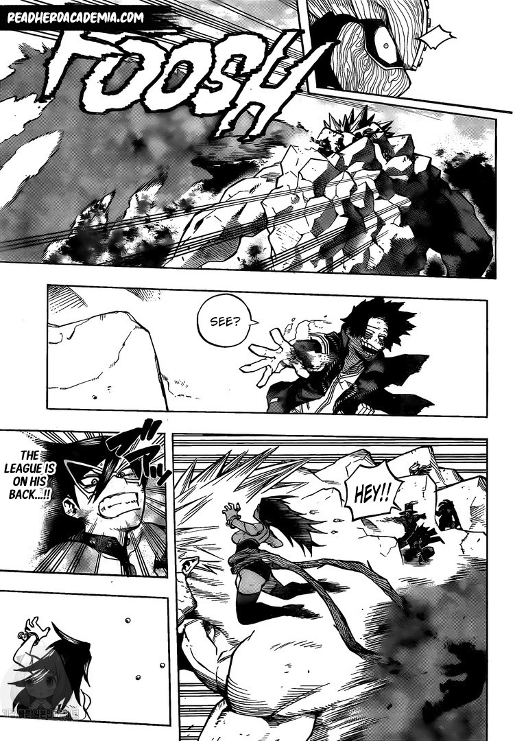 Boku no Hero Academia Chapter 278 Page 9