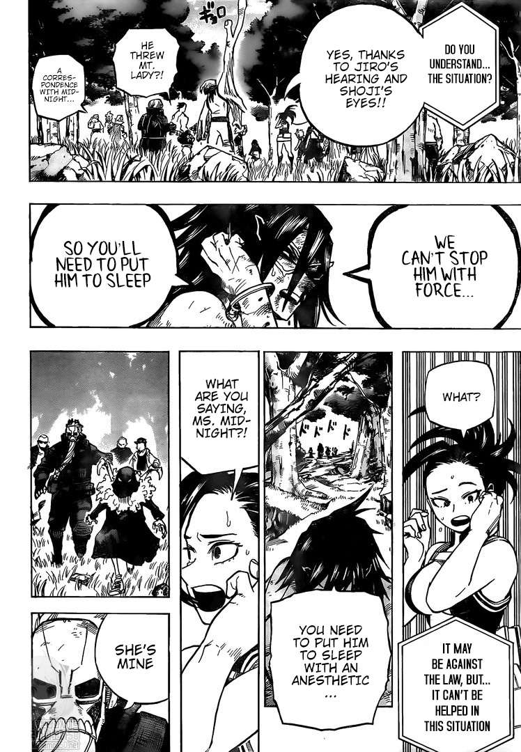 Boku no Hero Academia Chapter 278 Page 12