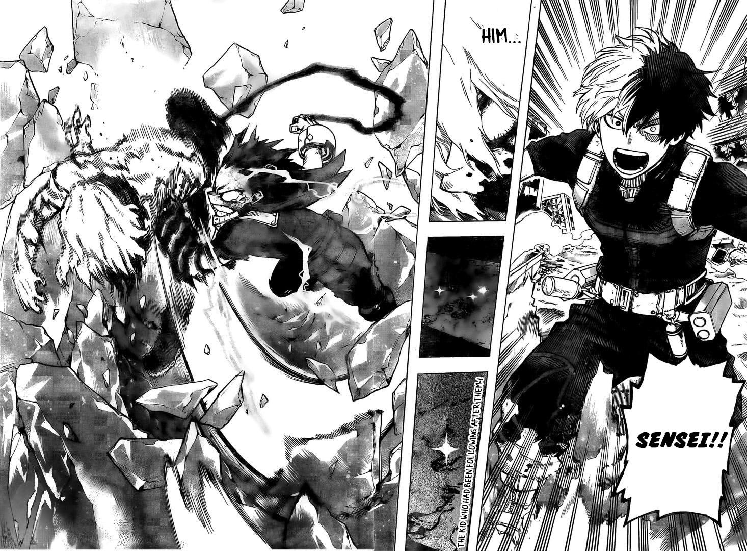 Boku no Hero Academia Chapter 282 Page 10