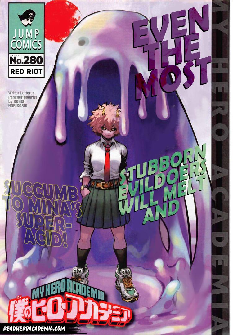 Boku no Hero Academia Chapter 280 Page 1