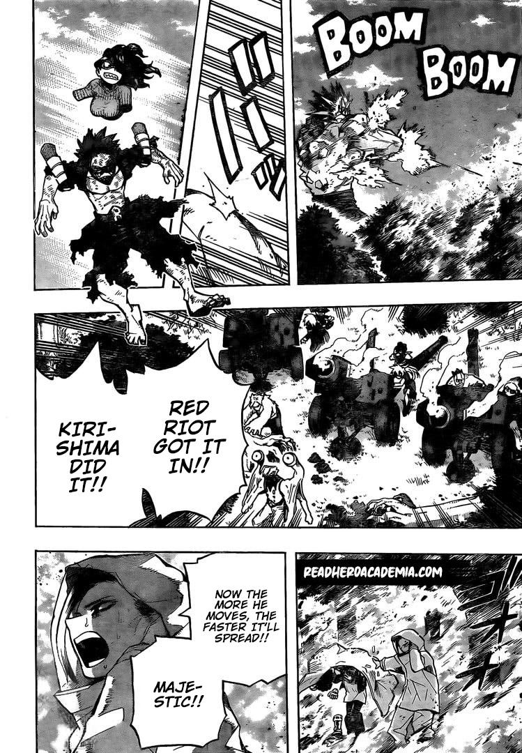 Boku no Hero Academia Chapter 280 Page 15