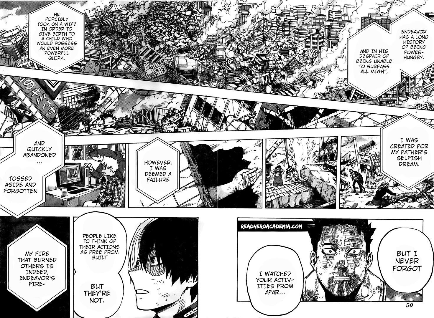 Boku no Hero Academia Chapter 290 Page 11