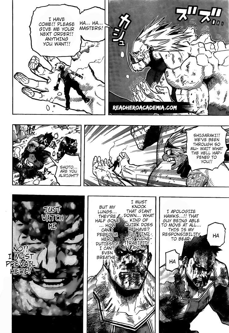 Boku no Hero Academia Chapter 290 Page 7