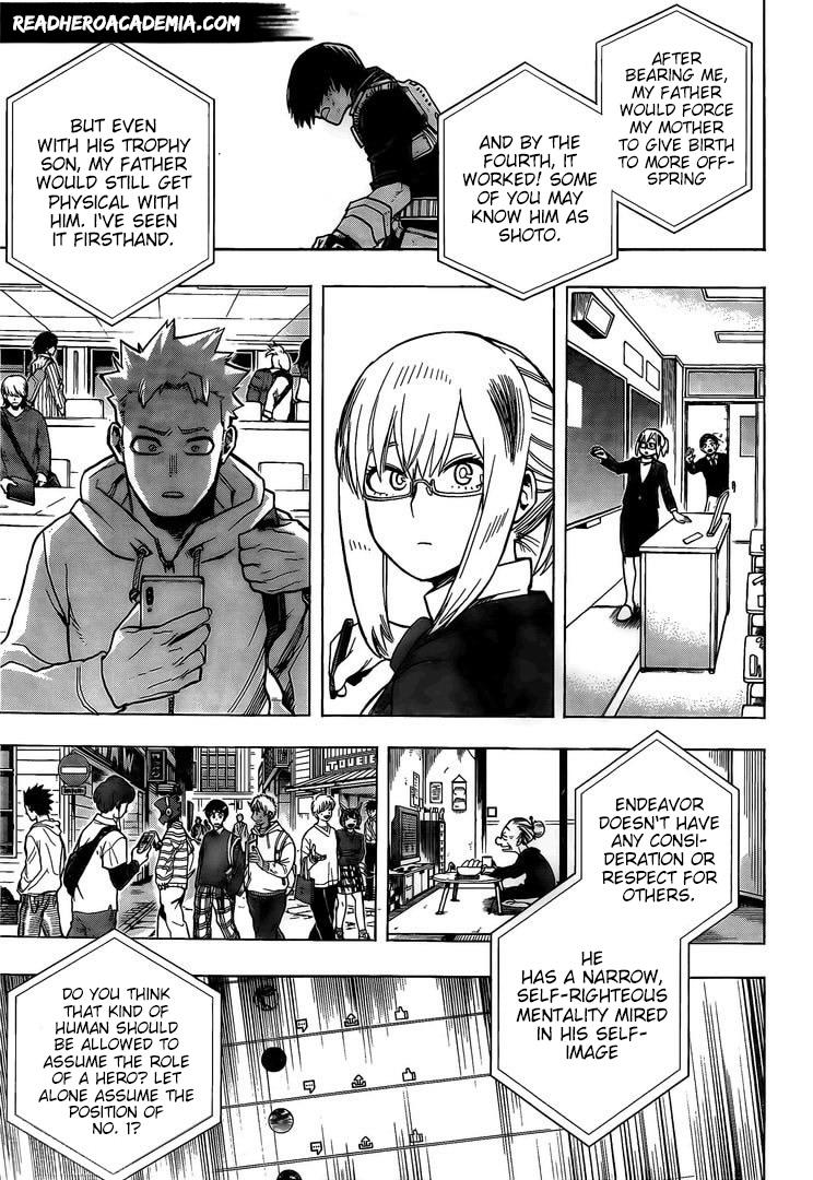 Boku no Hero Academia Chapter 291 Page 7
