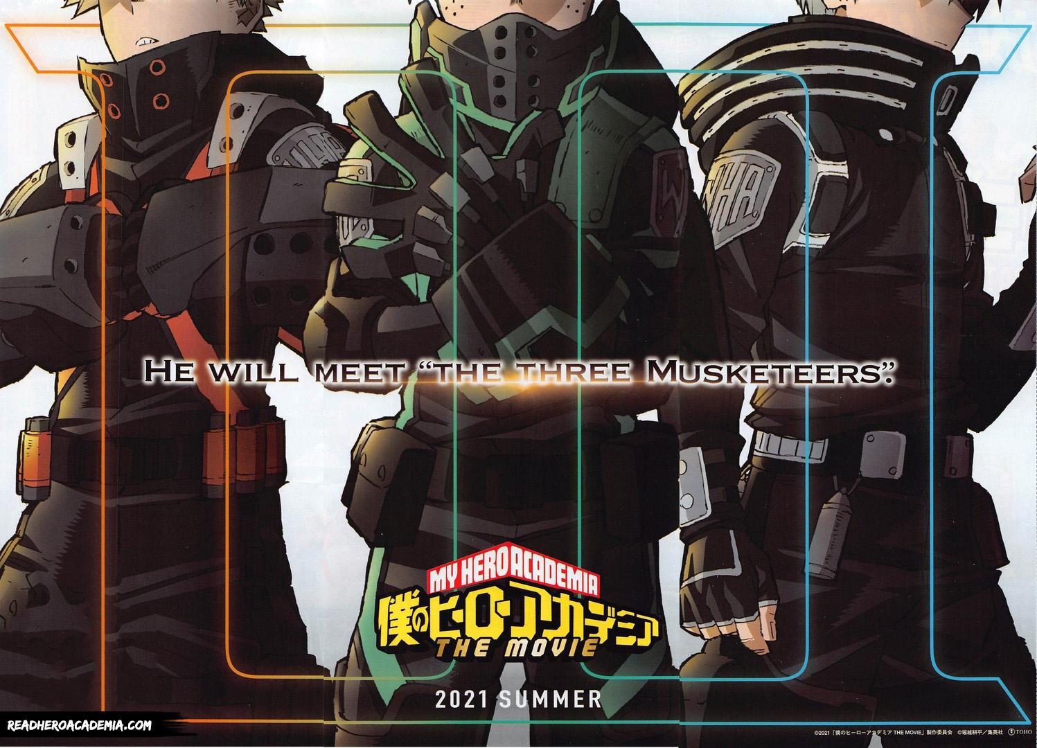 Boku no Hero Academia Chapter 292 Page 1