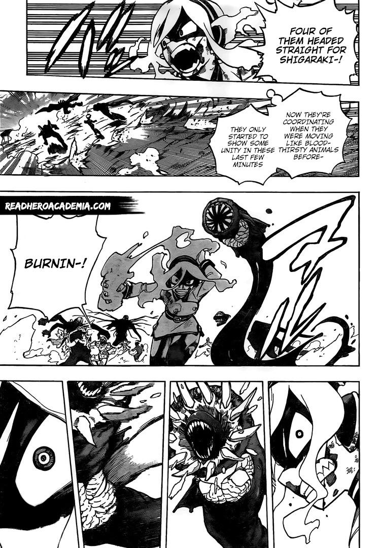 Boku no Hero Academia Chapter 292 Page 10