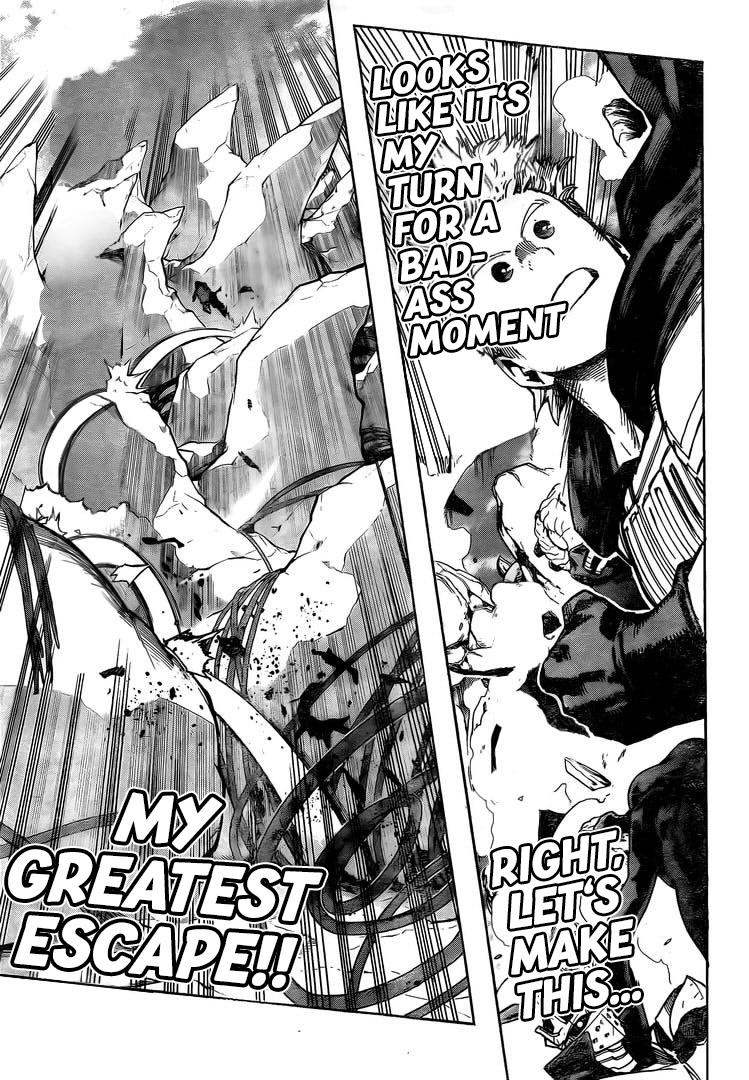 Boku no Hero Academia Chapter 294 Page 10