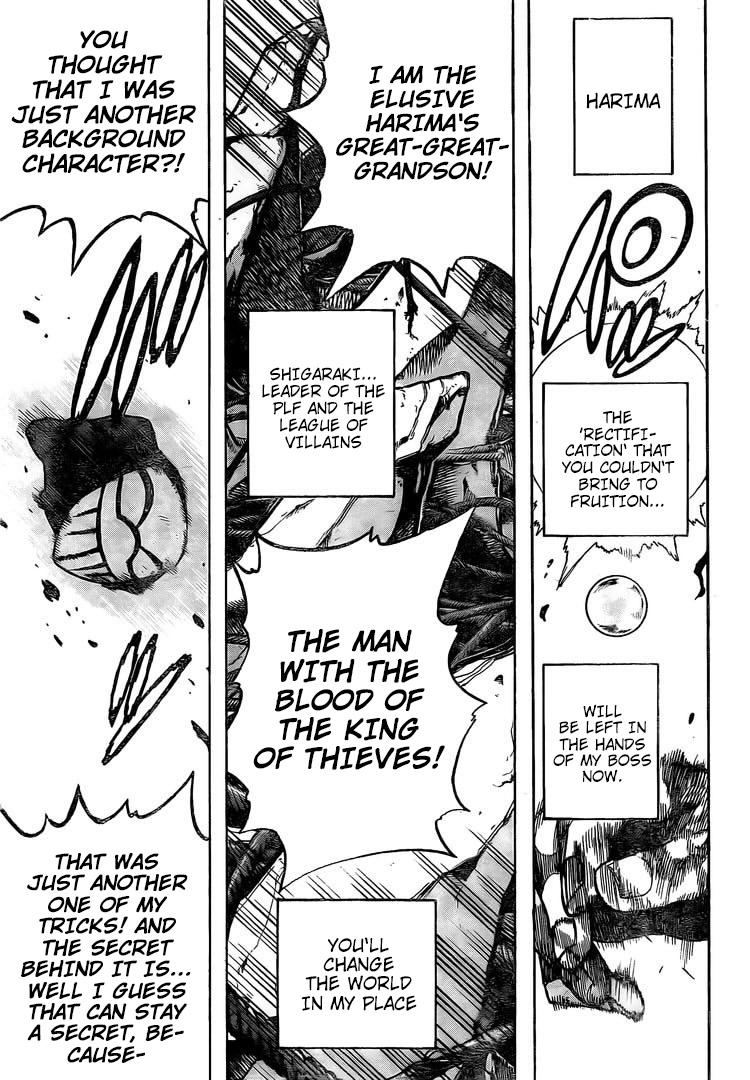 Boku no Hero Academia Chapter 294 Page 14