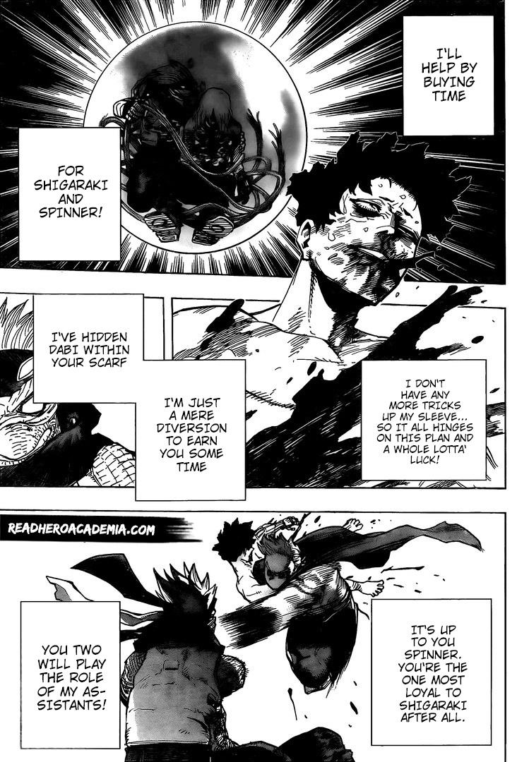 Boku no Hero Academia Chapter 295 Page 5