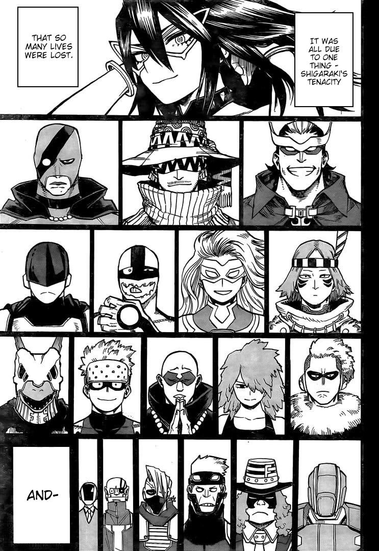 Boku no Hero Academia Chapter 296 Page 14