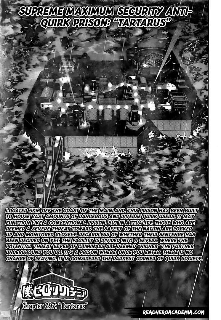 Boku no Hero Academia Chapter 297 Page 1