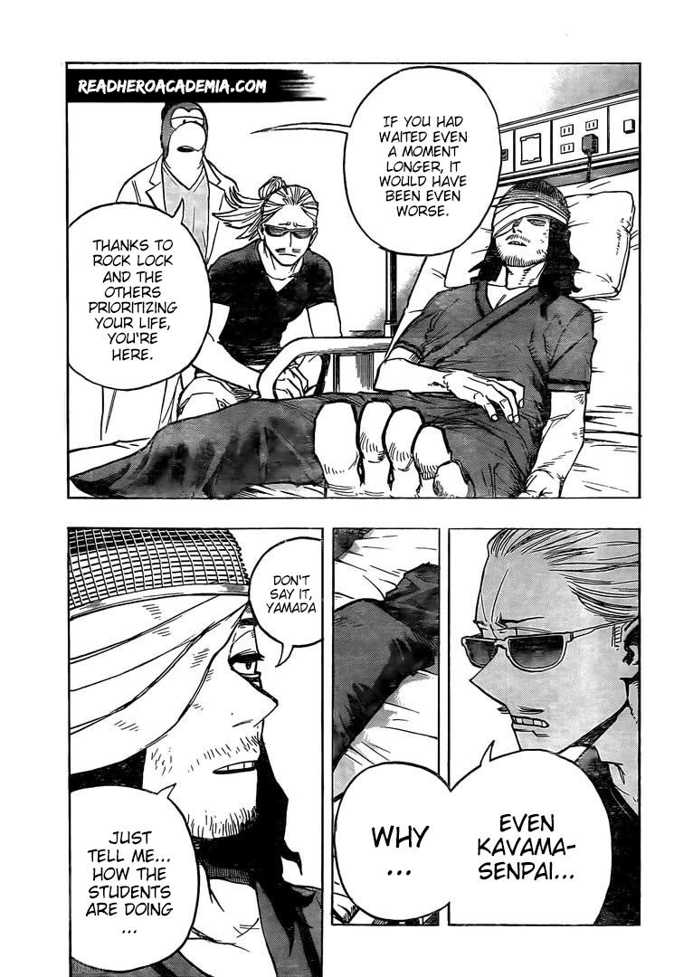 Boku no Hero Academia Chapter 298 Page 11