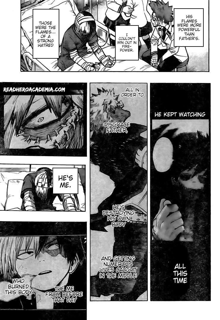 Boku no Hero Academia Chapter 298 Page 15