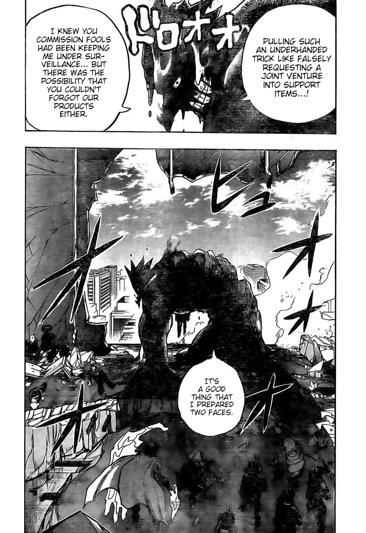 Boku no Hero Academia Chapter 298 Page 2