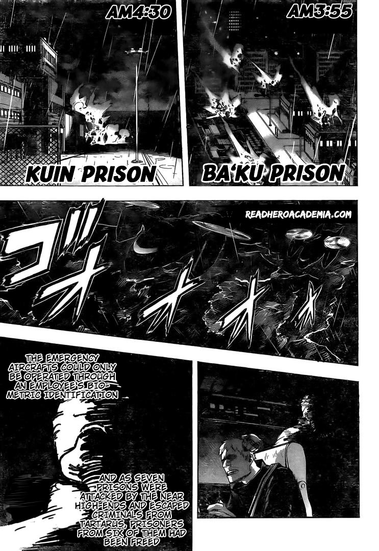Boku no Hero Academia Chapter 298 Page 5