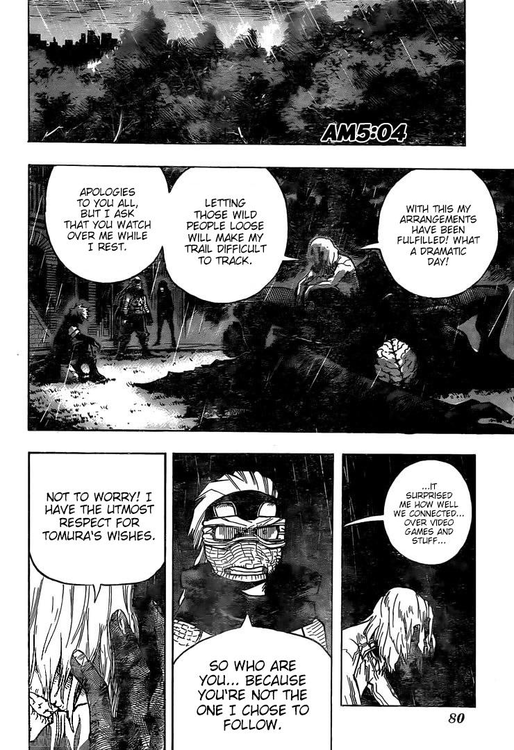 Boku no Hero Academia Chapter 298 Page 6