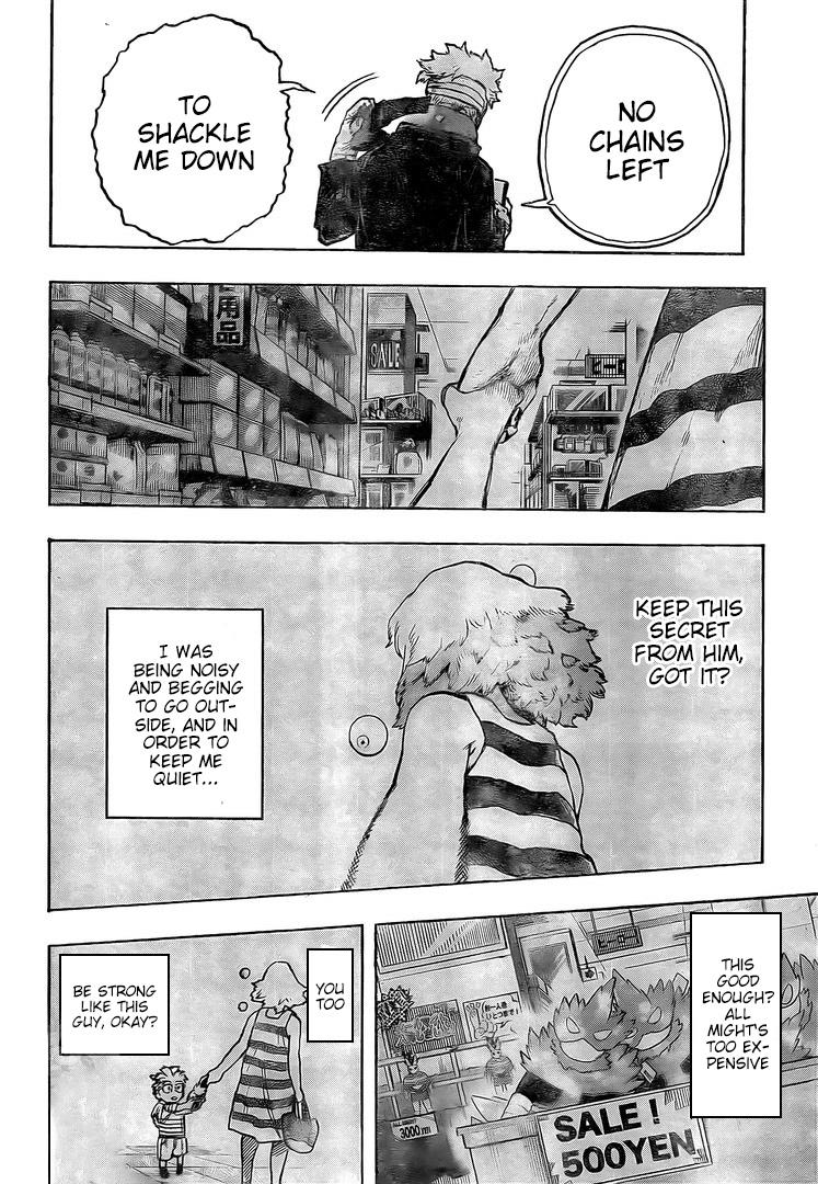 Boku no Hero Academia Chapter 299 Page 16
