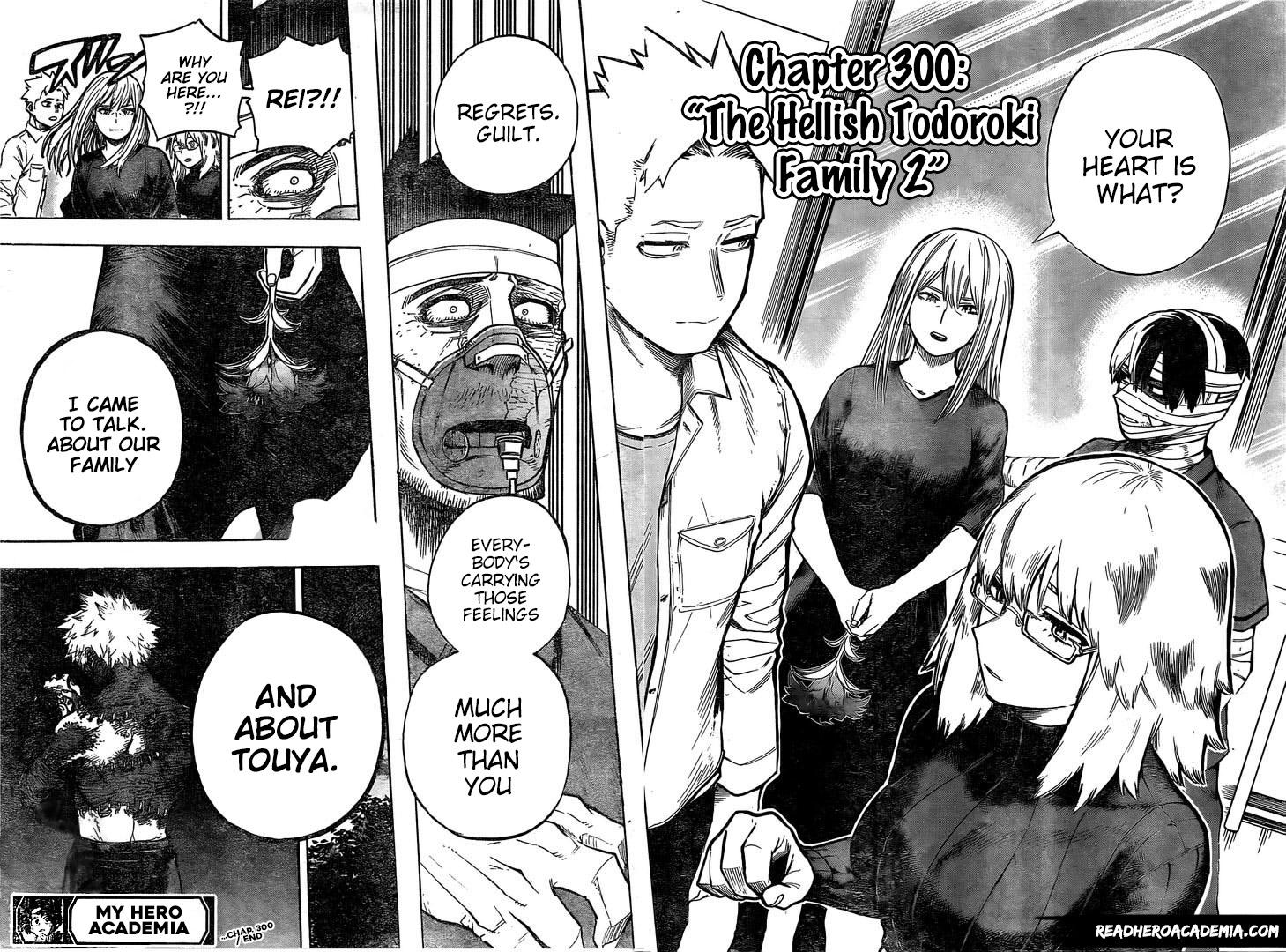 Boku no Hero Academia Chapter 300 Page 1