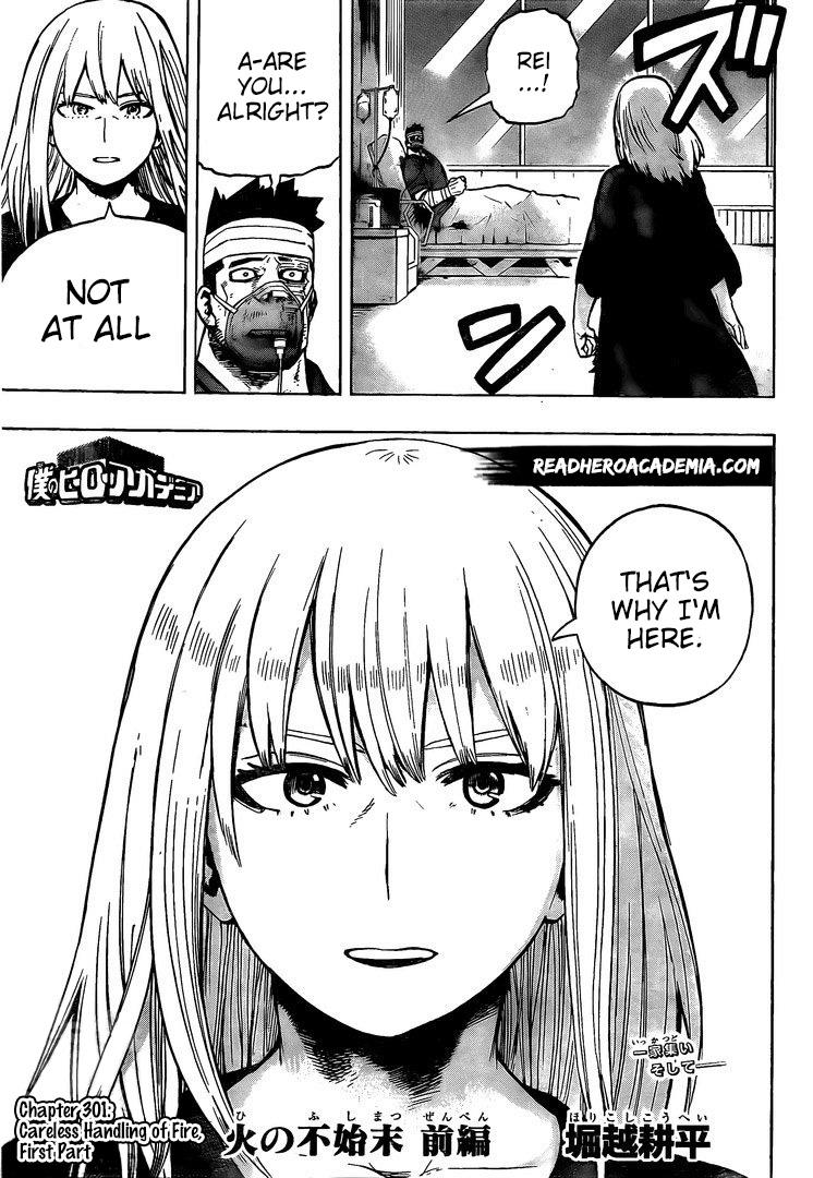 Boku no Hero Academia Chapter 301 Page 3