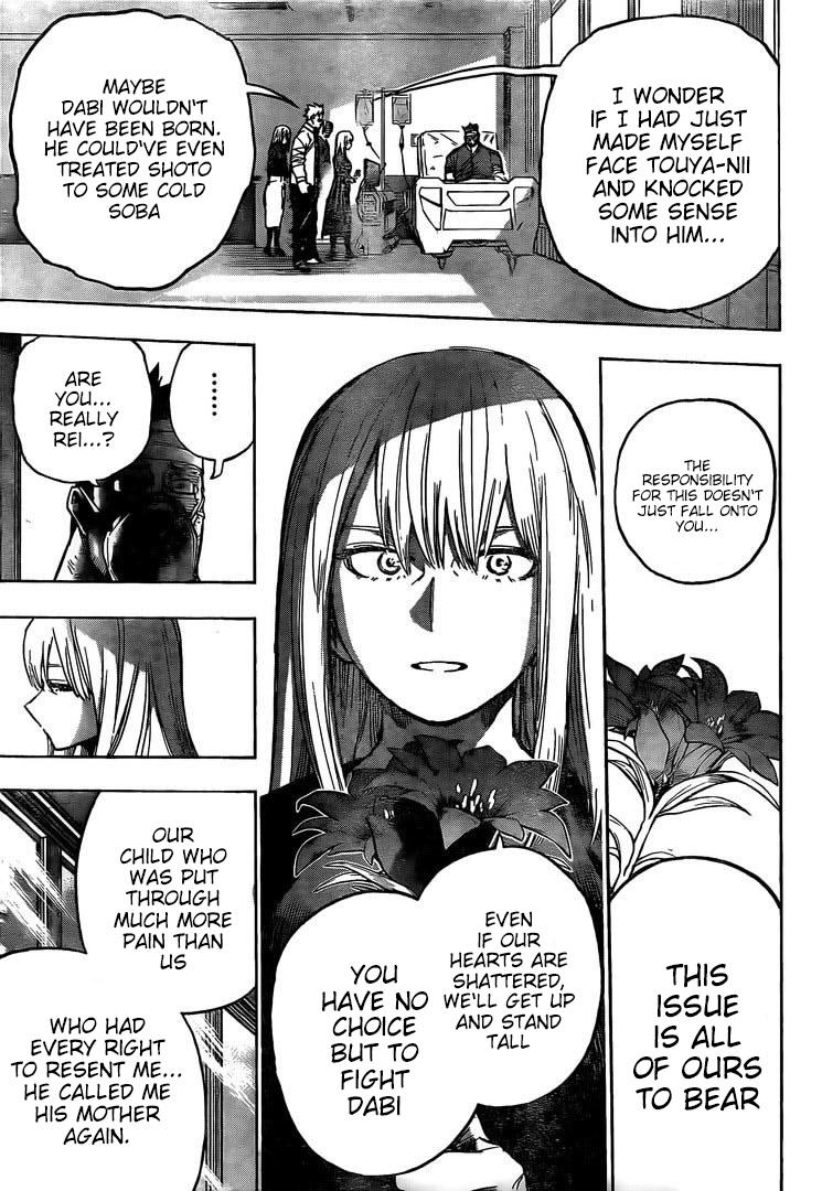 Boku no Hero Academia Chapter 302 Page 14