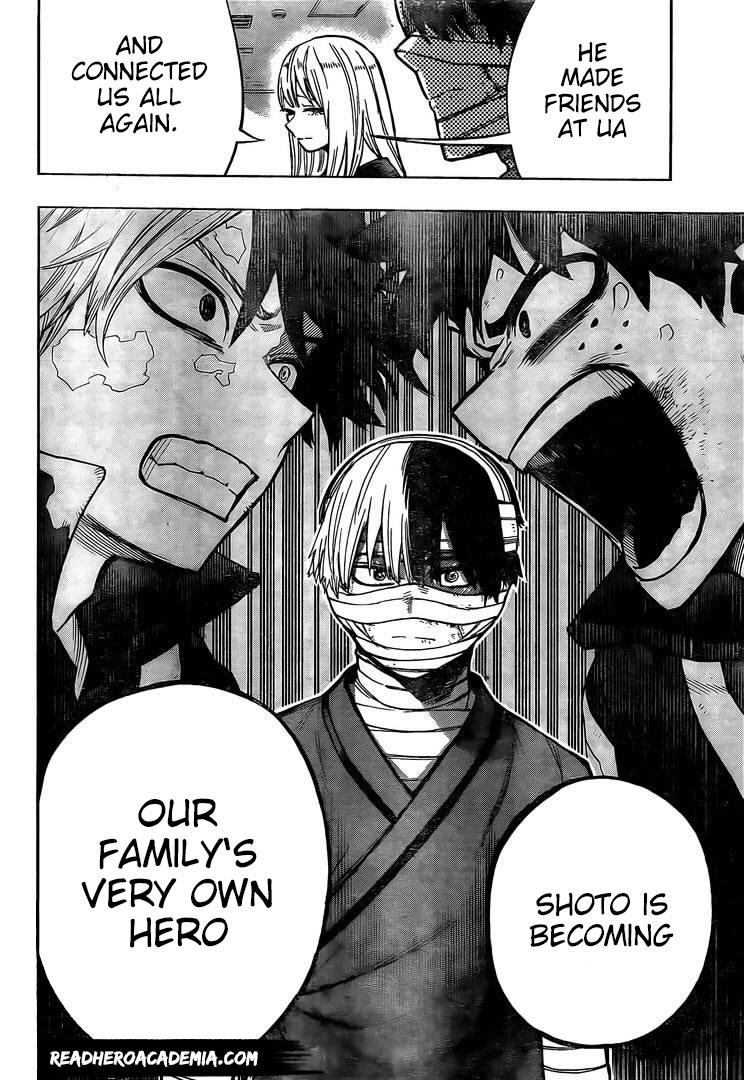 Boku no Hero Academia Chapter 302 Page 15
