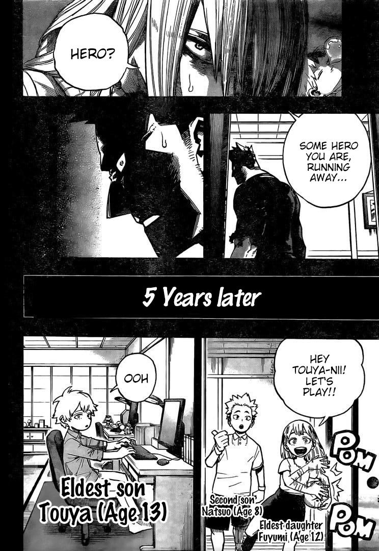 Boku no Hero Academia Chapter 302 Page 2