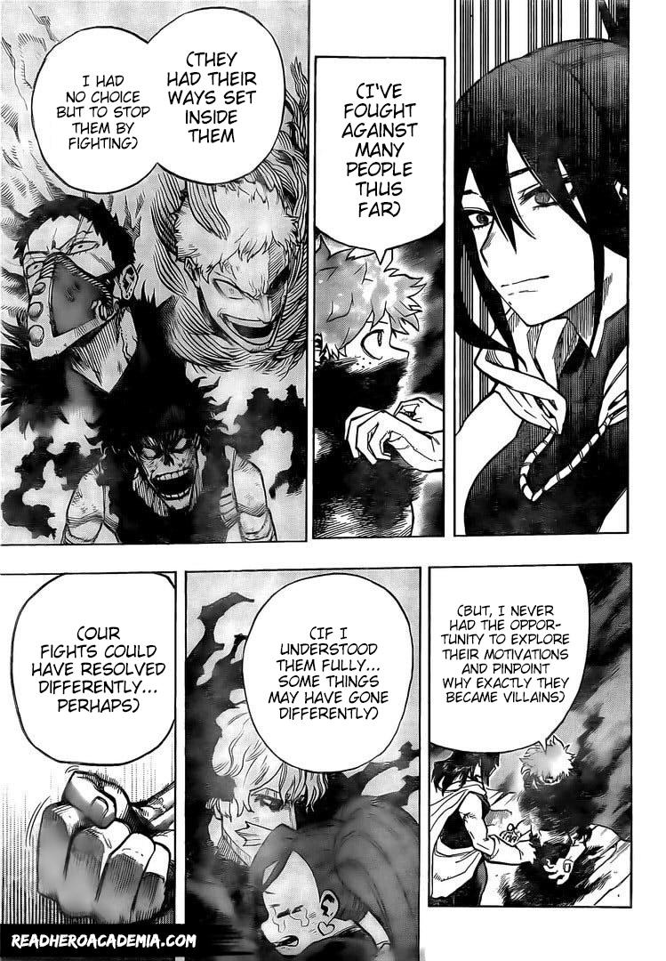Boku no Hero Academia Chapter 305 Page 11