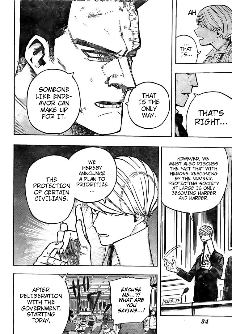 Boku no Hero Academia Chapter 306 Page 11