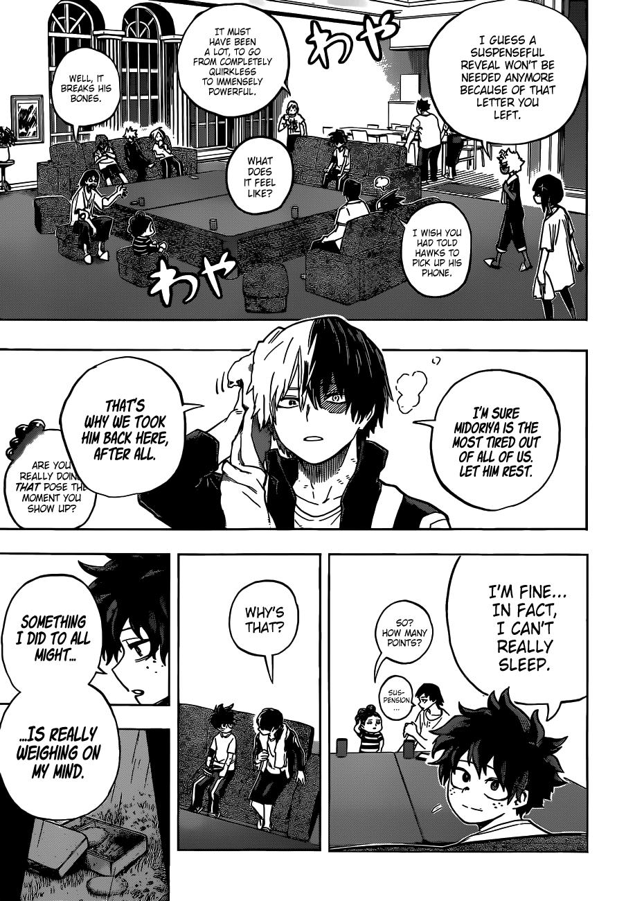 Boku no Hero Academia Chapter 327 Page 5