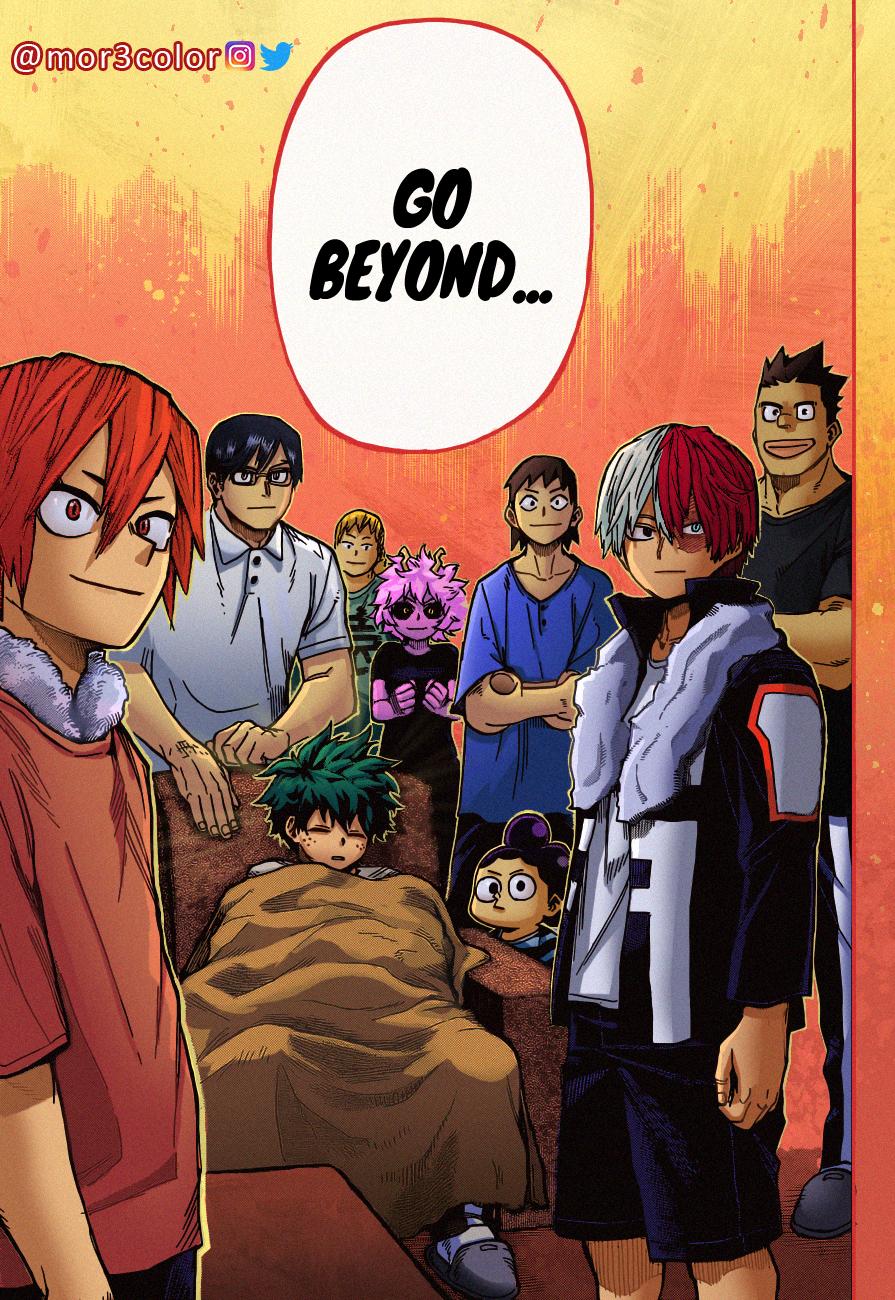 Boku no Hero Academia Chapter 327 Page 16