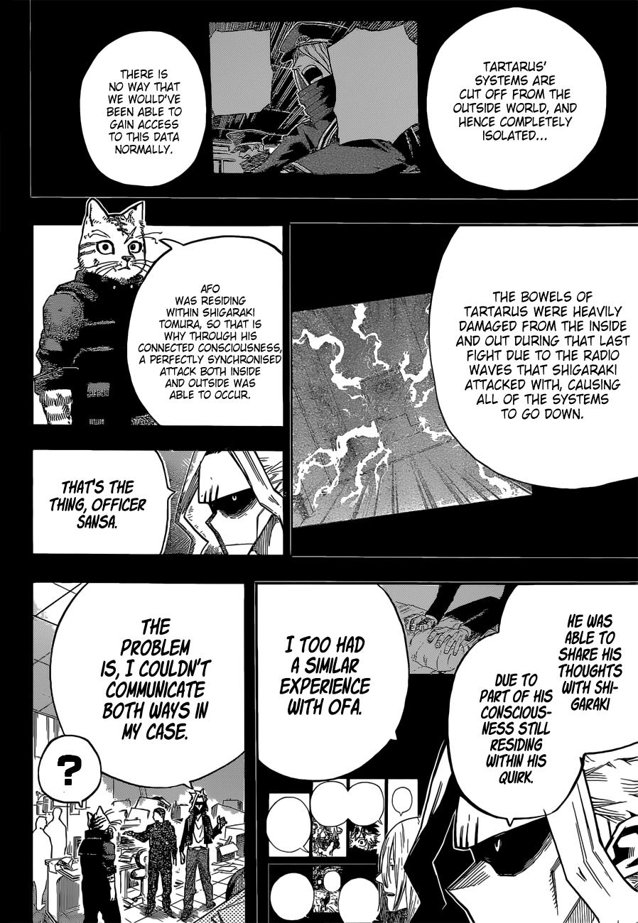 Boku no Hero Academia Chapter 328 Page 8