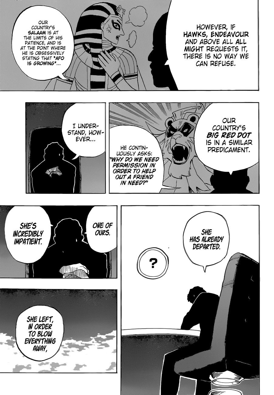 Boku no Hero Academia Chapter 328 Page 13