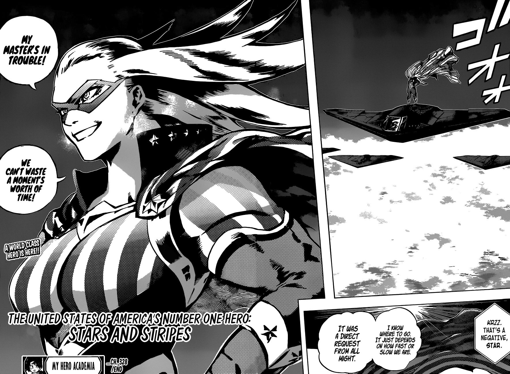 Boku no Hero Academia Chapter 328 Page 14
