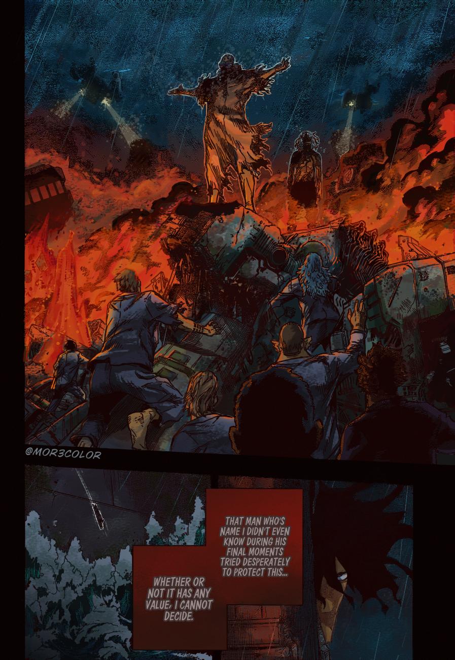 Boku no Hero Academia Chapter 328 Page 15