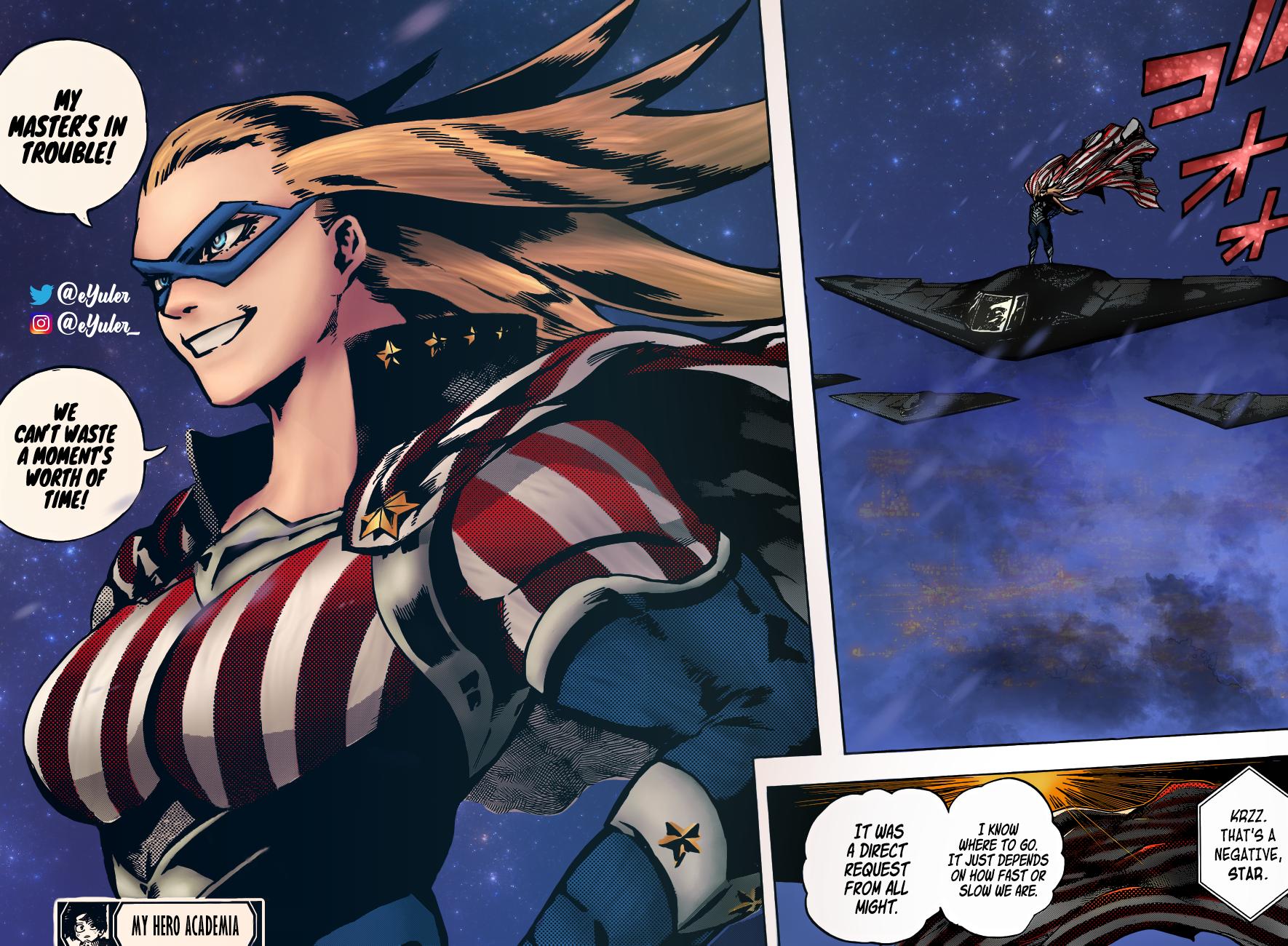 Boku no Hero Academia Chapter 328 Page 16