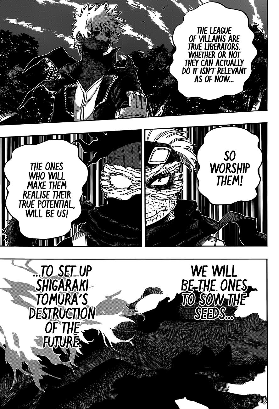 Boku no Hero Academia Chapter 329 Page 9