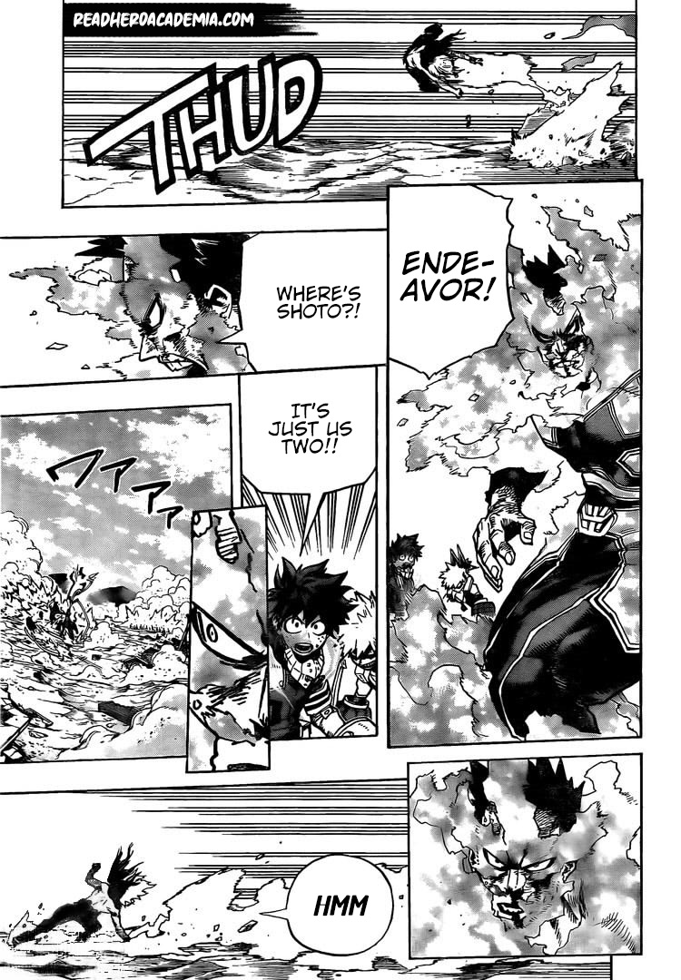 Boku no Hero Academia Chapter 277 Page 5