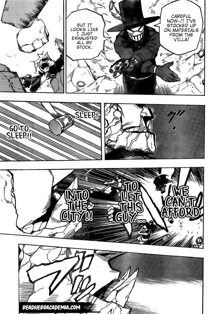 Boku no Hero Academia Chapter 279 Page 12