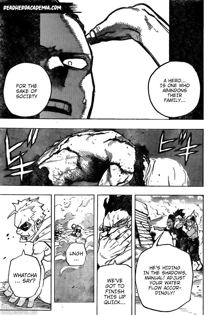 Boku no Hero Academia Chapter 281 Page 1