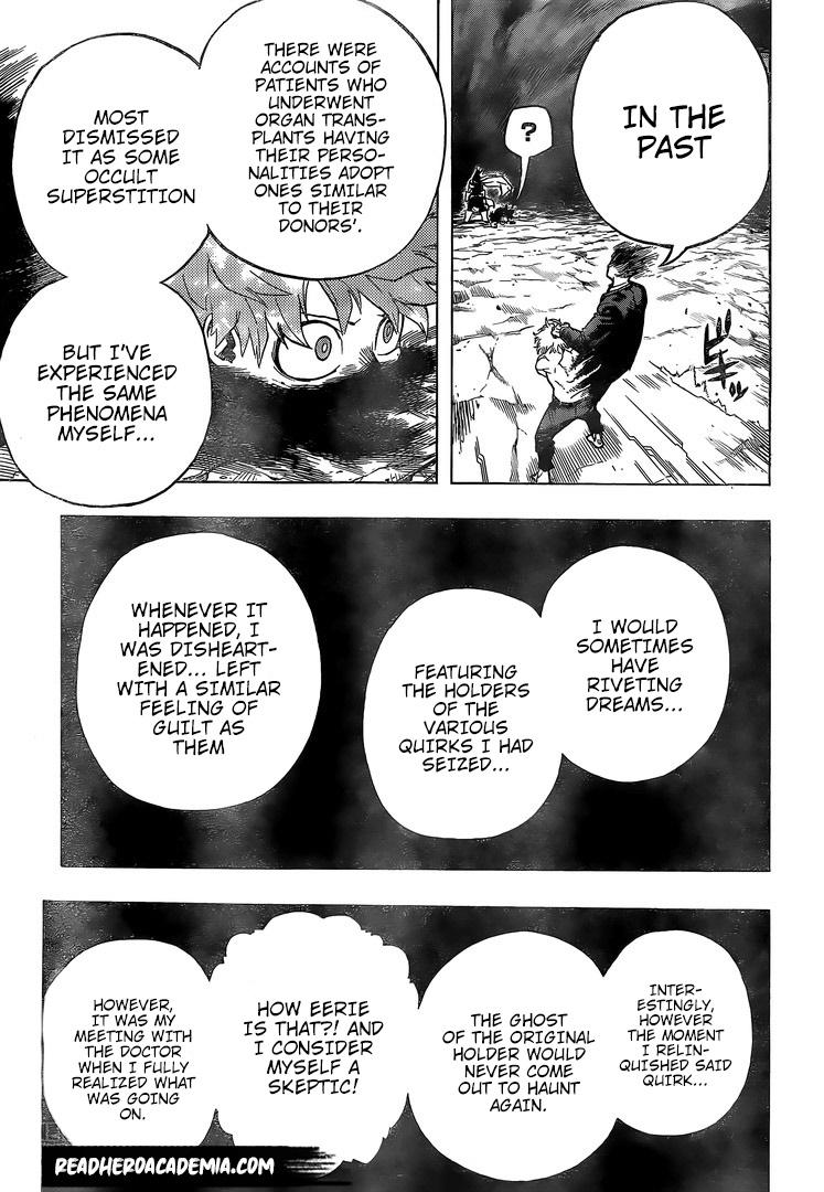 Boku no Hero Academia Chapter 287 Page 3