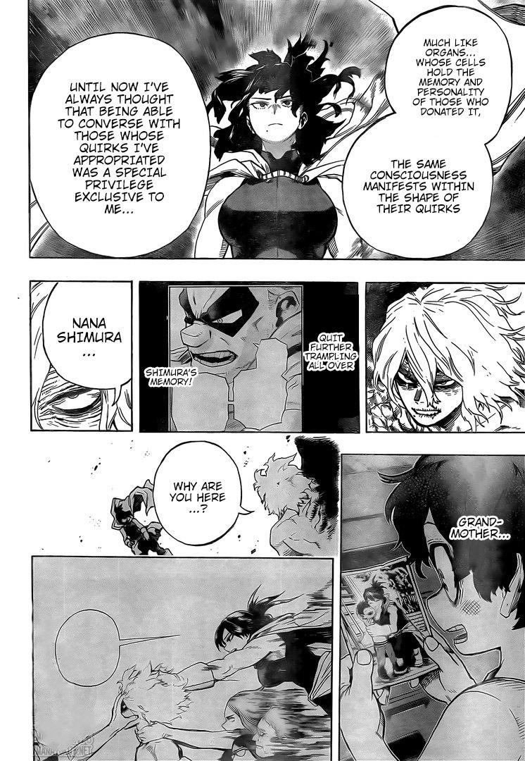 Boku no Hero Academia Chapter 287 Page 4